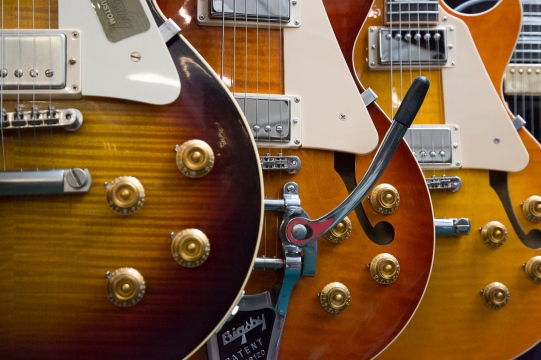 Guitars - Gibsons
